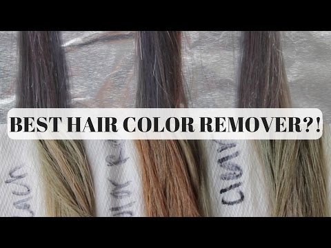 Best Color Removers For Hair Bleach Color Remover Or Clear Dye