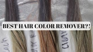 Best Color Removers for Hair? || Bleach, Color Remover, or Clear Dye
