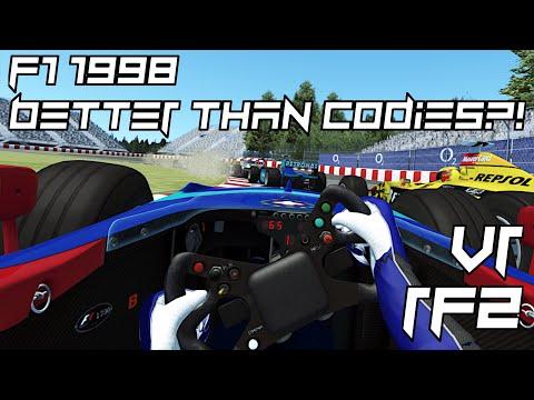 RFactor 2 - F1 1998 Better Than Codies?   VR