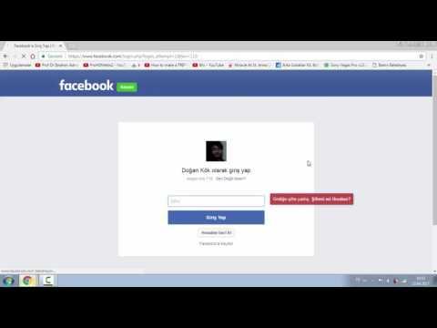 Facebook şifremi ve kayıtlı e posta şifremi unuttum?