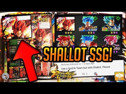 SUPER SAIYAN GOD SHALLOT COMING! V-JUMP SCANS! DEPTH ANALYSIS! REQUEST | Dragonball Legends | PvP