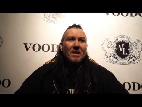 Mortiis interviewed @ Voodoo Lounge Dublin. 23 October 2016