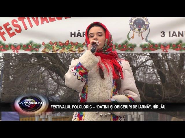 FESTIVALUL DE DATINI SI OBICEIURI DE LA  HIRLAU, 3 IAN 2020