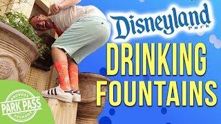 Disneyland     Top Five Drinking Fountains