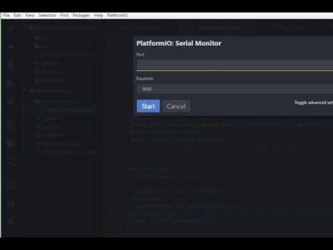 Gravação de firmware ESP8266 via WEB OTA com PlatformIO