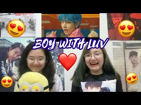 BTS - BOY WITH LUV feat Halsey MV Reaction Philippines  iamstefidee