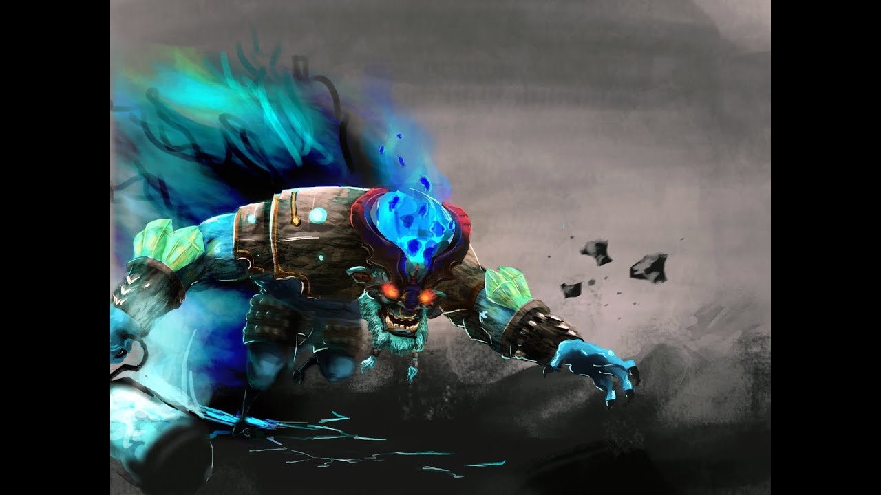 dota 2 speed paint spirit breaker immortal youtube