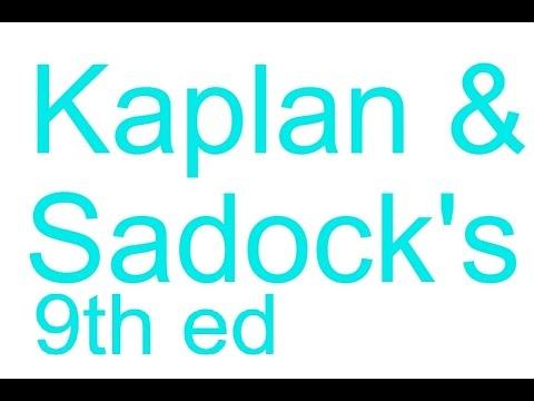 PSY02.Kaplan & Sadock's 9th ed