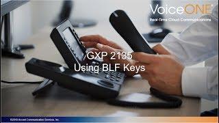 Grandstream GXP2135 BLF Feature Keys