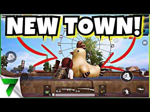 NEW GHOST TOWN IN ERANGEL PUBG MOBILE! | PUBG MOBILE