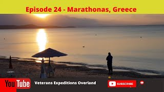Season 2  Episode 24 - Heading to Marathonas, Greece and the end of our outward journey