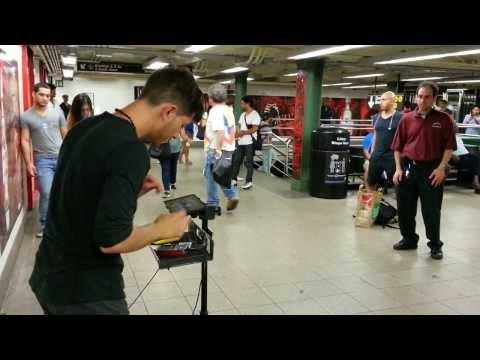 iamprints in NYC subway