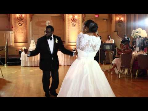 BEST FATHER DAUGHTER DANCE EVER ~ SHARI & ZAKEE WEDDING