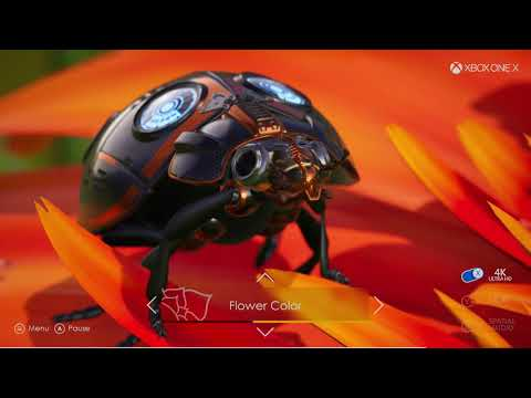 Xbox One X Insects in 4K with 4K assets