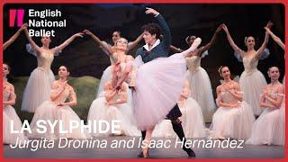 La Sylphide: Jurgita Dronina and Isaac Hernández (extract) | English National Ballet