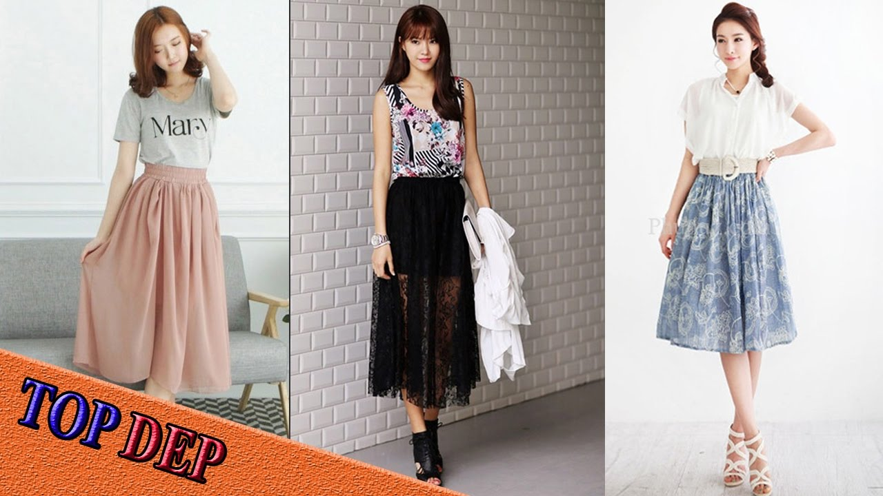 Top Mẫu chân váy maxi đẹp thời trang cho các bạn nữ diện hè