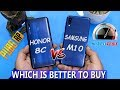 GALAXY M10 VS HONOR 8C | SPEED & PUBG COMPARISON | WHICH ONE IS BETTER TO BUY🤔🤔  | IN URDU