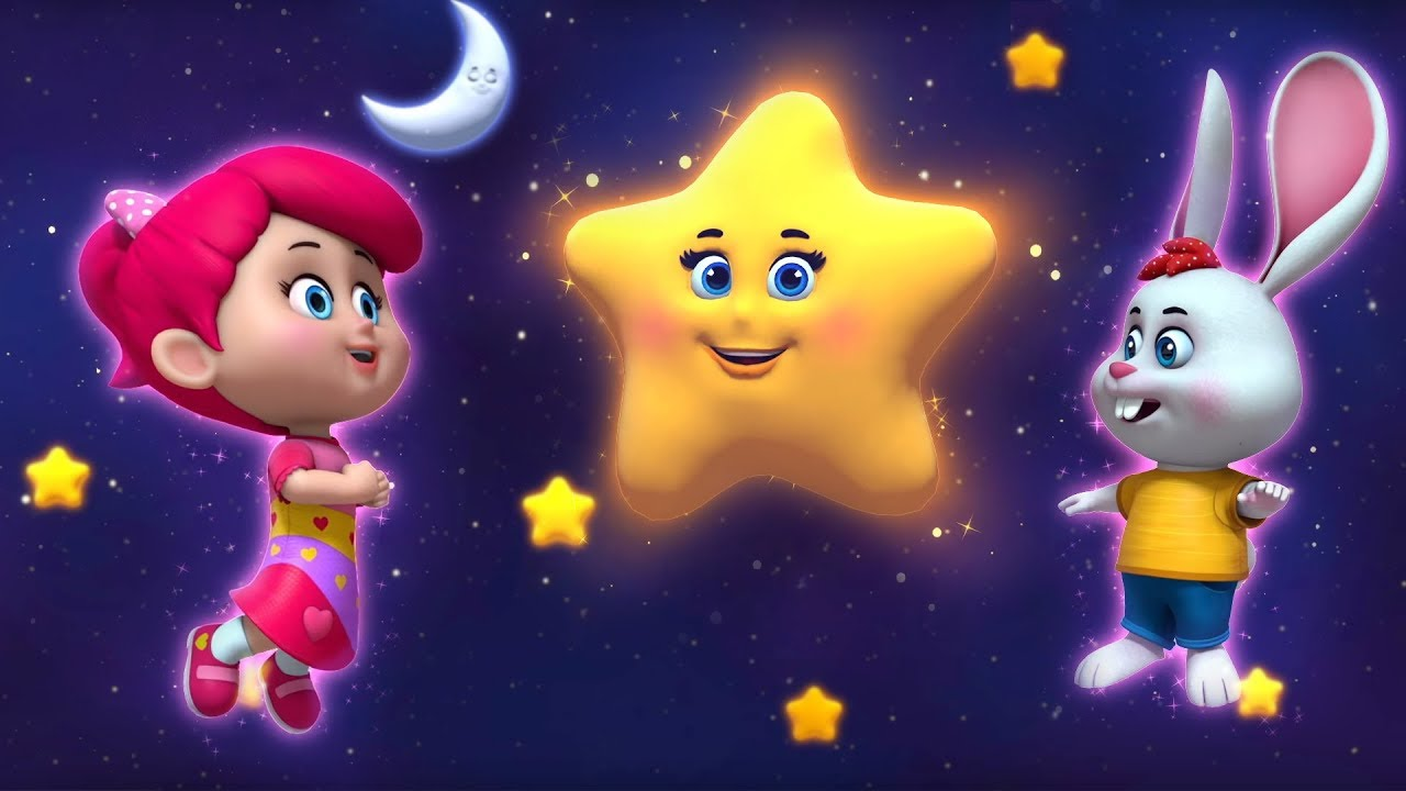Twinkle Twinkle Little Star - Betty and Bunny Nursery Rhymes and KIDS Songs