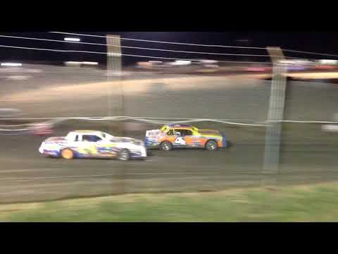 Factory Stock Feature Superbowl Speedway 8-17-19