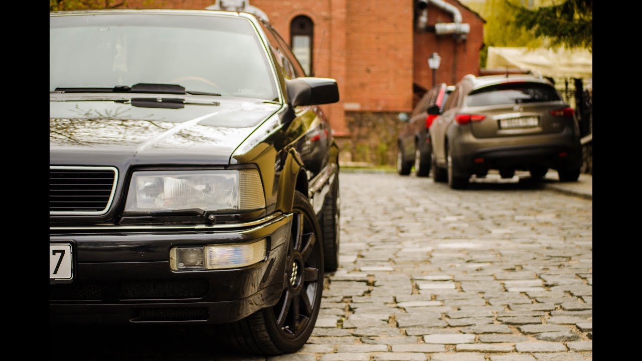 Audi V8 - Железная Фрау Ахт