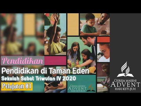 Sekolah Sabat Triwulan 4 2020 Pelajaran 1 Pendidikan Di Taman Eden (ASI)