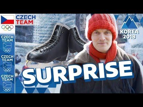 OLYMPIC SURPRISE   Figure skating ⭐ STAR ⭐ shocked Seoul   #CZECHTEAM