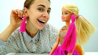 Подарок от Барби: серьги своими руками для Вики. Мастер-класс