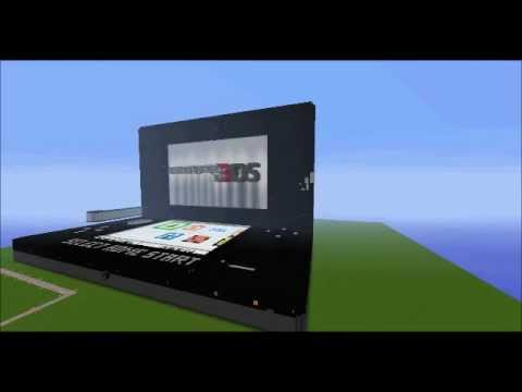 Minecraft 3DS Timelapse Pt 2: The Top Half & Finishing Touches