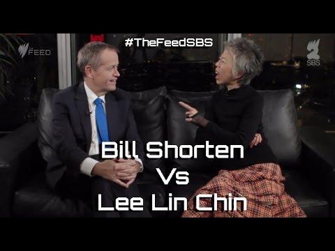 Bill Shorten Vs Lee Lin Chin - The Feed