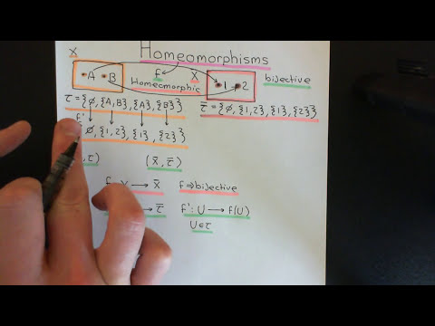 Topological Homeomorphisms Part 1