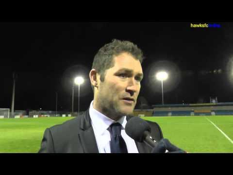 Gosport v Havant & Waterlooville  HSC goals & reaction December 2014