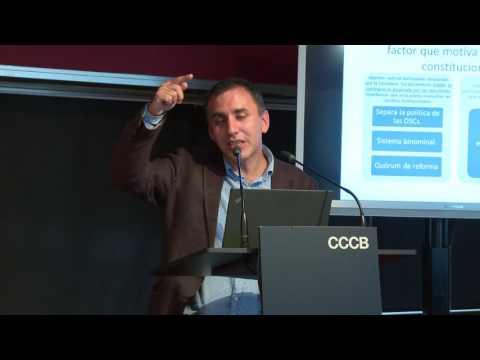 """Processos constituents al món: """"El procés constituent de Xile"""", Sr. Francisco Soto (6/8)"""