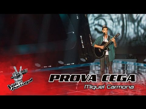 Miguel Carma  Let it Go  Provas Cegas  The Voice Portugal
