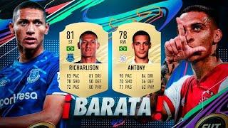 MEJOR PLANTILLA HIBRIDA PARA EMPEZAR FIFA 21!!/FUT21