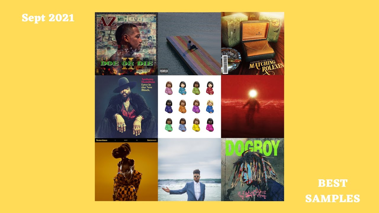 Download The Best Hip Hop/Rap Samples of September 2021