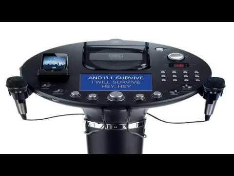 Singing Machine iSM1028Xa 7 Inch Color TFT Display CDG Karaoke Player