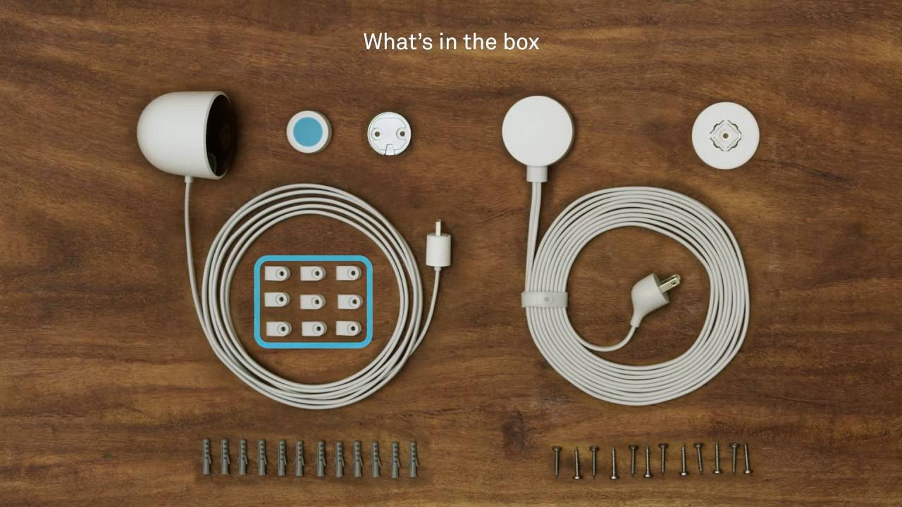 how to set up and install nest cam outdoor youtube rh youtube com Nest Wiring Harness Nest Thermostat E Wiring Diagram