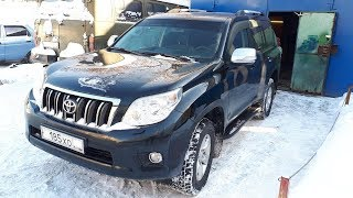Toyota Land Cruiser Prado 150. Часть 3. Как снять дверные карты.