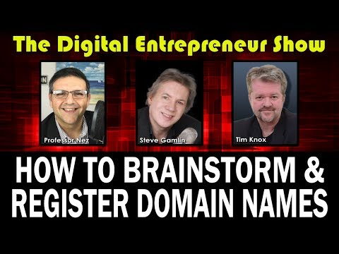DES #8: How To Register & Use Domain Names