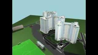 Выполненный проект жилого комплекса в г.Гостомель(Проект 16-этажного жилого здания в г. Гостомеле, выполненый в 2008 году. В состав всех типовых зданий входят..., 2012-09-26T17:07:47.000Z)