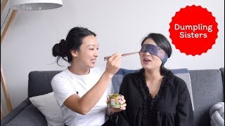 Julie does a blind taste test of pickled cabbage! | DUMPLING SISTERS