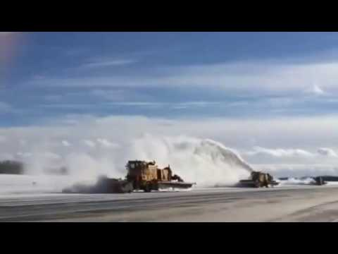 "Snow Ops ""Mean Machines"" at Gerald Ford International Airport - Grand Rapids"