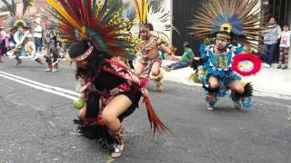 Danza en honor a Sr San Miguelito
