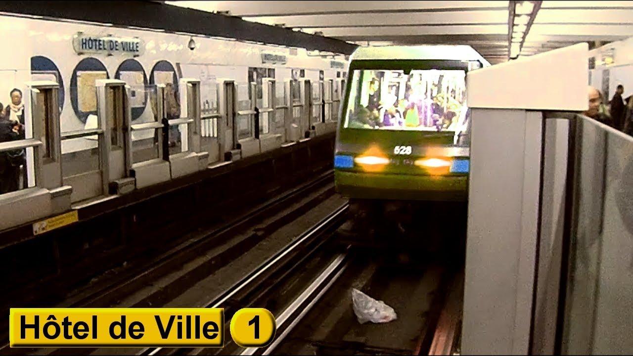 H 244 Tel De Ville Ligne 1 M 233 Tro De Paris Ratp Mp05