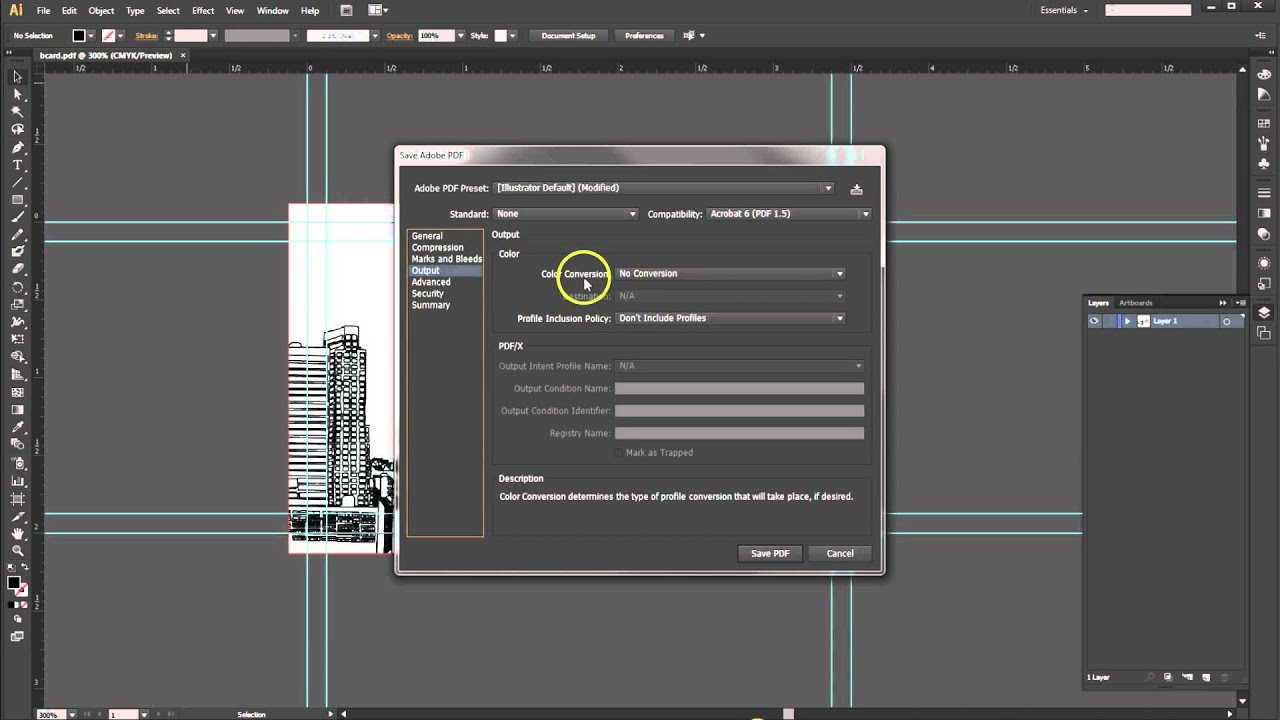 how to compress pdf file size illustrator