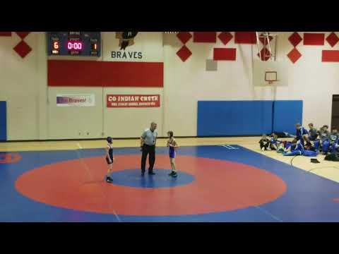 Jackson Wrestling vs. Clark Pleasant Middle School - 75 pounds