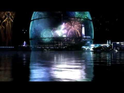Final Fantasy XIII - Snow Proposes (English) - Firework Scene