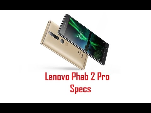 Lenovo Phab2Pro hands-on: the First Tango Phone!!!