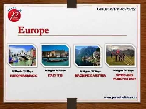 Europe Tailor-made Holiday Packages