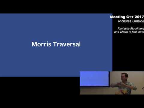 Fantastic Algorithms and Where To Find Them - Nicholas Ormrod - Meeting C++ 2017